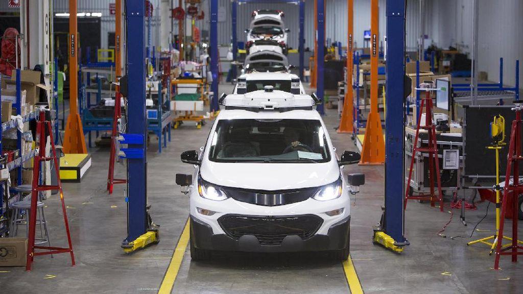 Chevrolet Belum Bisa Jual Mobil Otonomnya karena Pemerintah AS