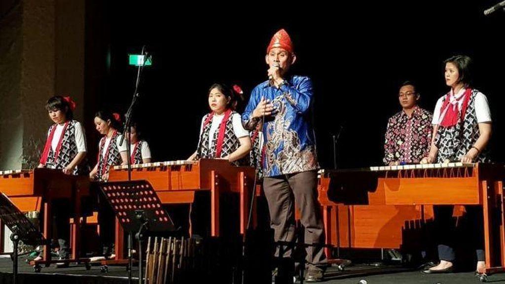 Musik Kolintang Indonesia Memukau Warga di Melbourne