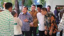 Mentan dan Sejumlah Tokoh Hadiri Open House JK di Makassar
