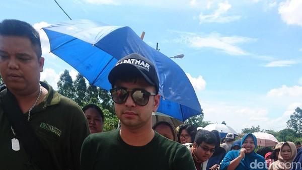 Raffi Ahmad Minta Maaf ke Ibunda Jupe karena Baru Sempat Datang