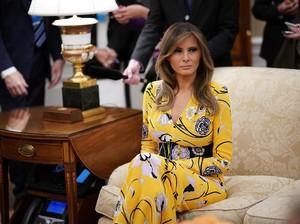 Wanita Ini Habiskan Rp 679 Juta Agar Mirip Melania Trump, Sudah Mirip?