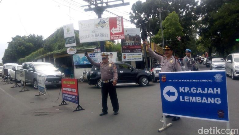Sambut Wisatawan, Polisi akan Kanalisasi Arus Lalu Lintas di Lembang