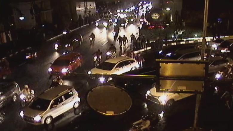 Ilustrasi kemacetan yang didapat NTMC Foto: Dok. NTMC Polri