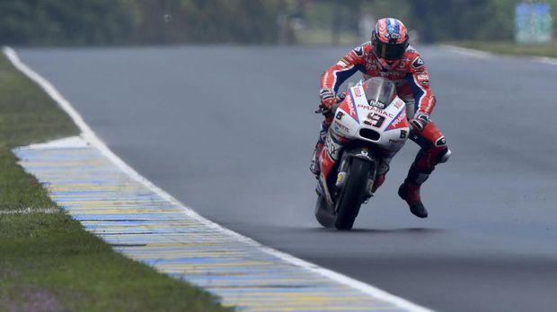 Danilo Petrucci hanya kalah 0,160 detik dari Andrea Iannone di FP2 MotoGP Australia.