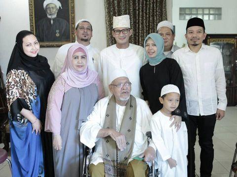 Sandiaga Uno silaturahmi di kediaman Habib Ali