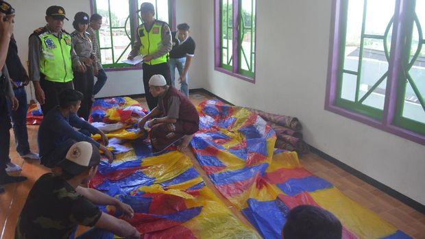 Polres Wonosobo Amankan 8 Balon Udara dalam 2 Hari