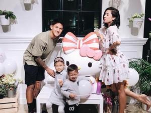Family Goals! Kompaknya Jennifer dan Irfan Bachdim Saat Fitnes Ini Bikin Iri