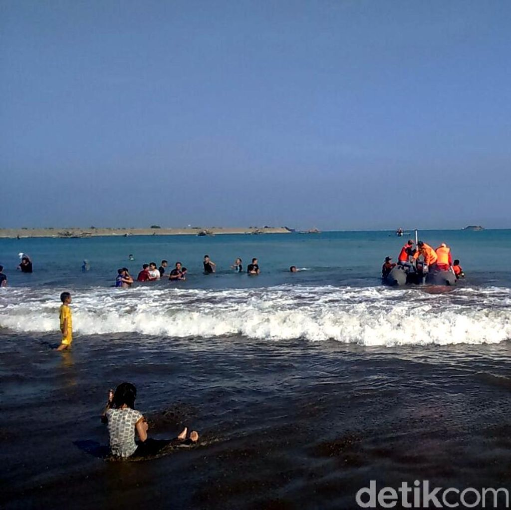 Selama Tiga Hari, 32 Wisatawan Tenggelam di Palabuhanratu