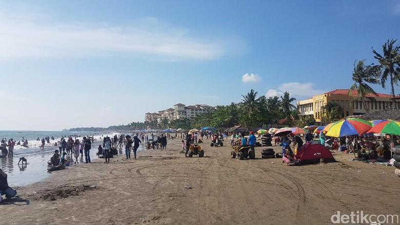Ilustrasi pantai di Anyer (Bahtiar Rifai/detikTravel)