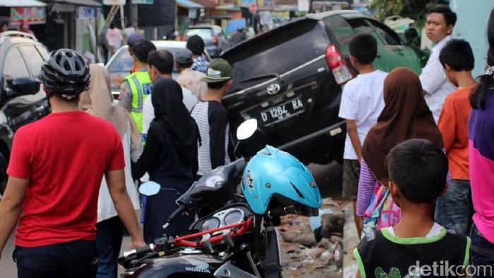 Ilustrasi kecelakaan di Garut (Foto: Hakim Ghani)