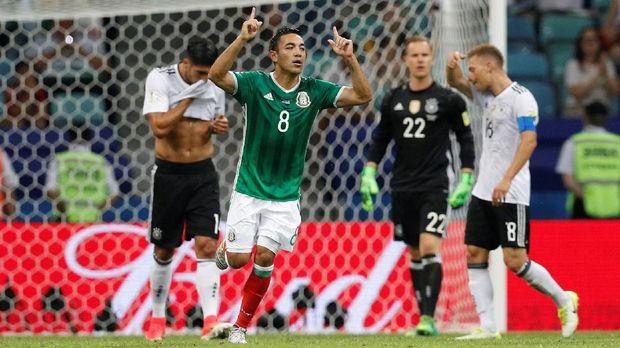 Jerman vs Meksiko, Duel Beda Level di Piala Dunia 2018