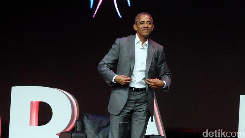 Barack Obama Foto: Rengga Sancaya