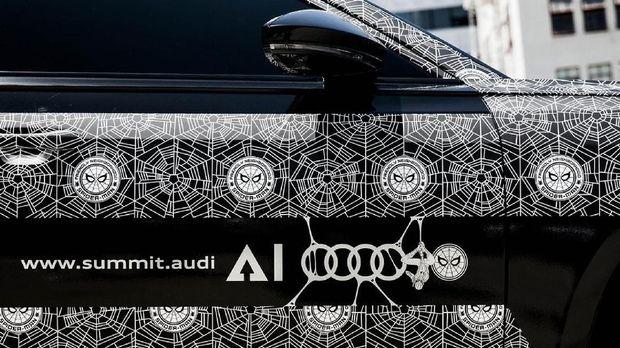 All New Audi A8 Kawal Pembukaan Film Spider-Man