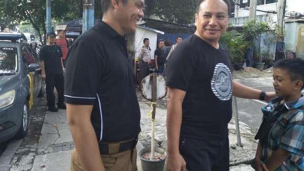 Kapolresta Depok Datangi Lokasi Penusukan 2 Anggota Brimob