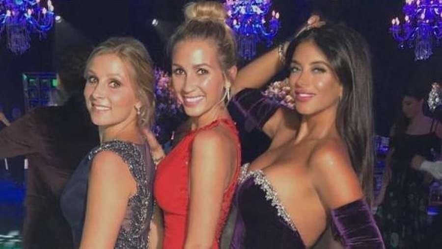 Hot Lady! Para WAGs Cantik dan Seksi di Pernikahan Messi