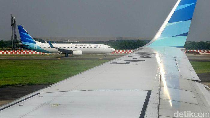 Ilustrasi Pesawat Garuda Foto: Ari Saputra