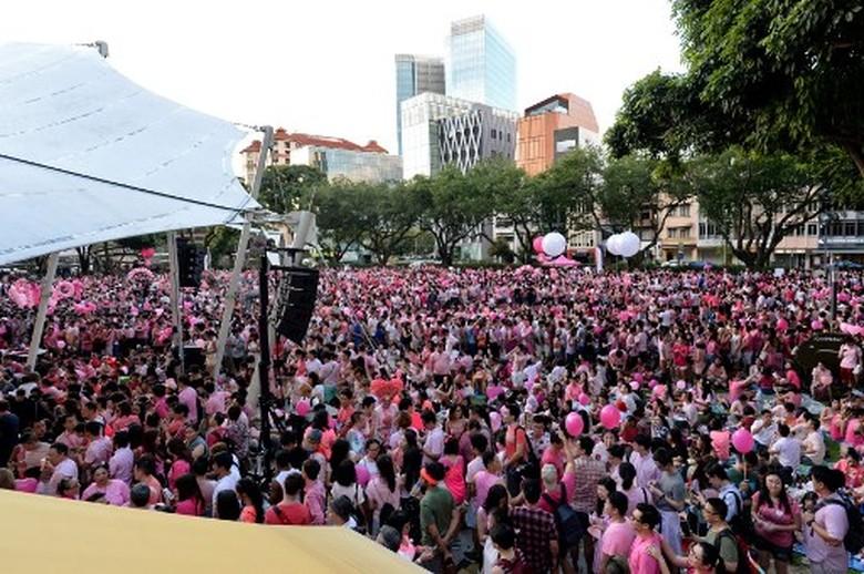 Unjuk Rasa Gay Digelar di Singapura, WNA Tak Boleh Ikut