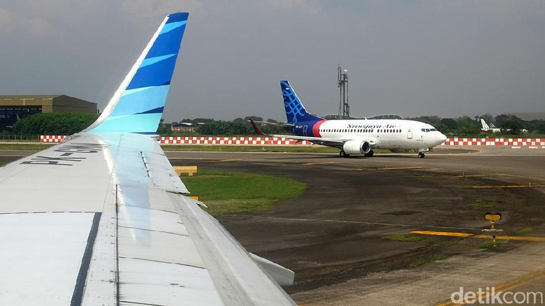 Pesawat Sriwijaya Air (Ari Saputra/detikTravel)