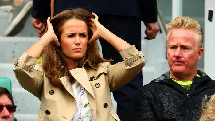 Istri Andy Murray, Kim Sears, hamil lagi. Foto: Clive Mason/Getty Images