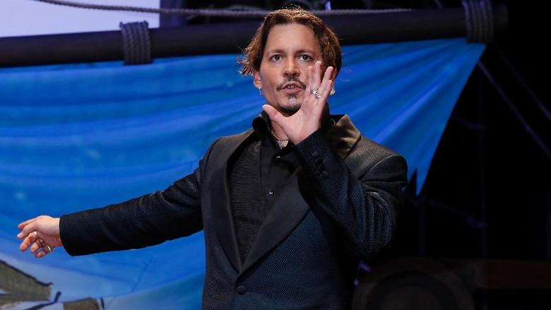 Ada Isu KDRT, Johnny Depp Bintangi Fantastic Beast Sempat Jadi Kontroversi
