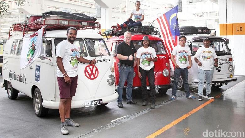 Rombongan VW Kombi Malaysia (Foto: Volkswagen)