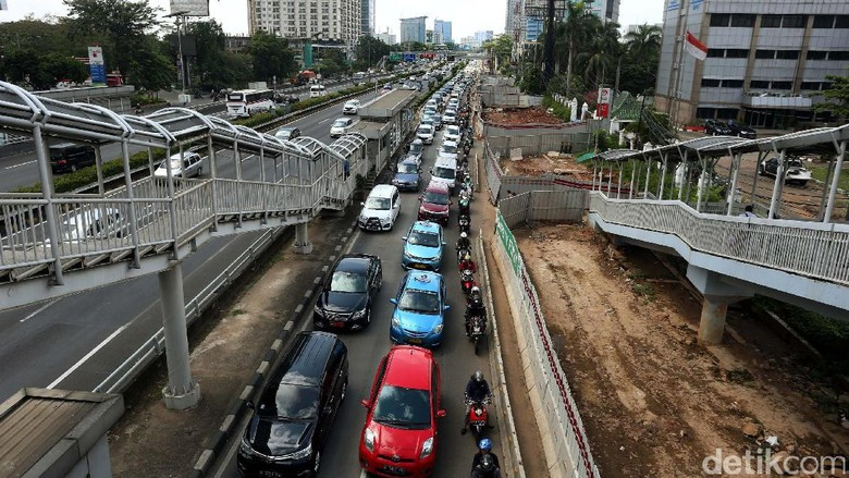 Jakarta Rugi Rp 67,5 Triliun Akibat Kemacetan Lalu Lintas