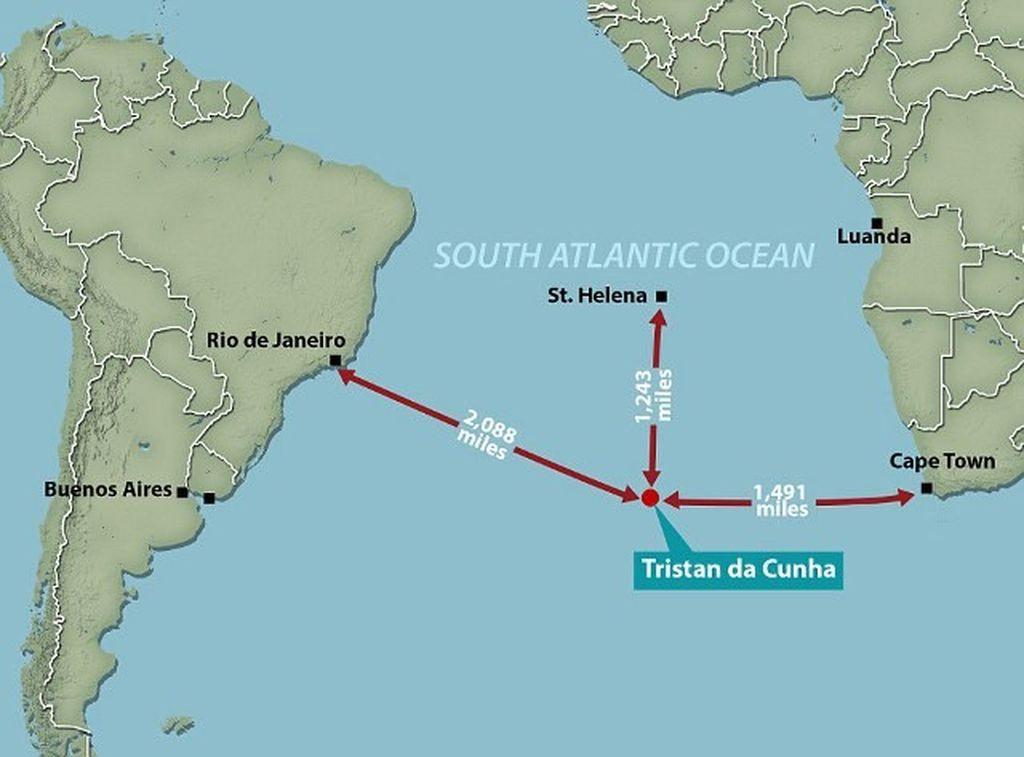 Ini lokasinya di peta dunia, jauh dari mana mana.(Foto: istimewa/oceanicwideexpeditions)