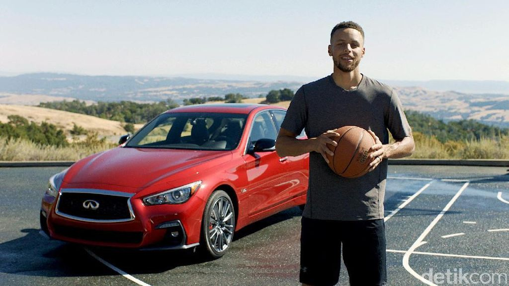 Infiniti Gaet Bintang NBA Stephen Curry