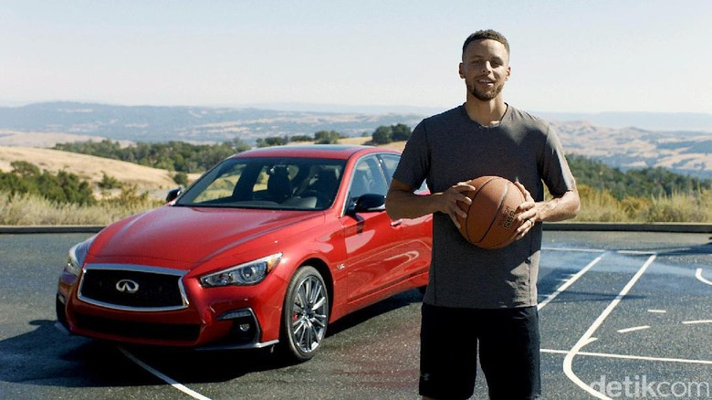 Stephen Curry (Foto: Infiniti)