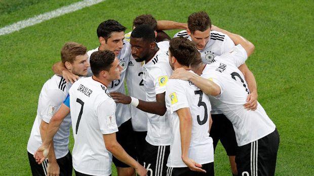Timnas Jerman berada di grup ringan pada Piala Dunia 2018.