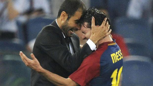 Messi kerap dirumorkan bakal bereuni dengan Josep Guardiola.