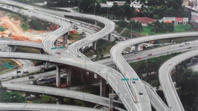 Begini Kondisi Jalan Tol di Malaysia