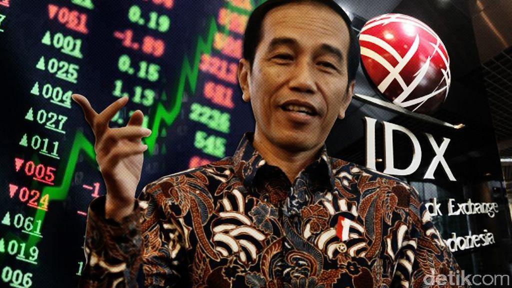 Jokowi Dorong Anak Usaha BUMN Jual Saham di Pasar Modal