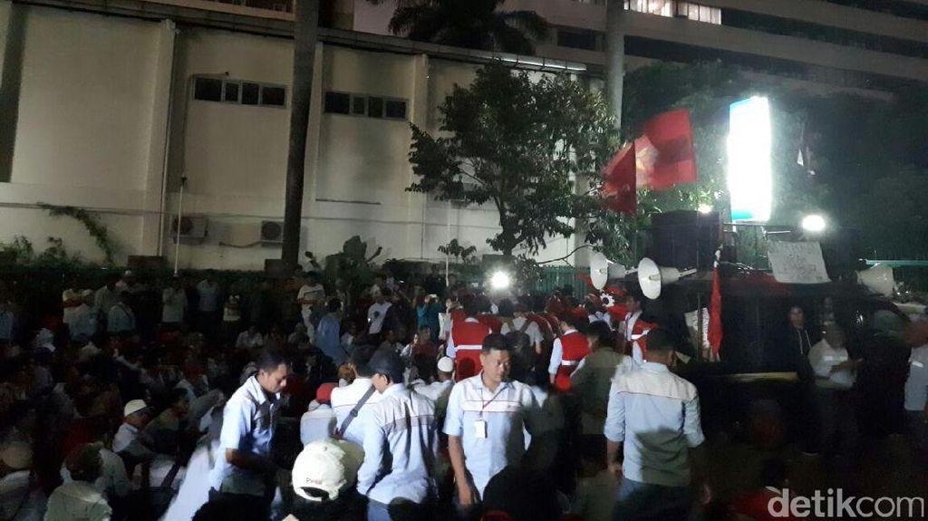 Aksi 12 Jam, Demo Sopir Truk Tangki Pertamina Akhirnya Bubar