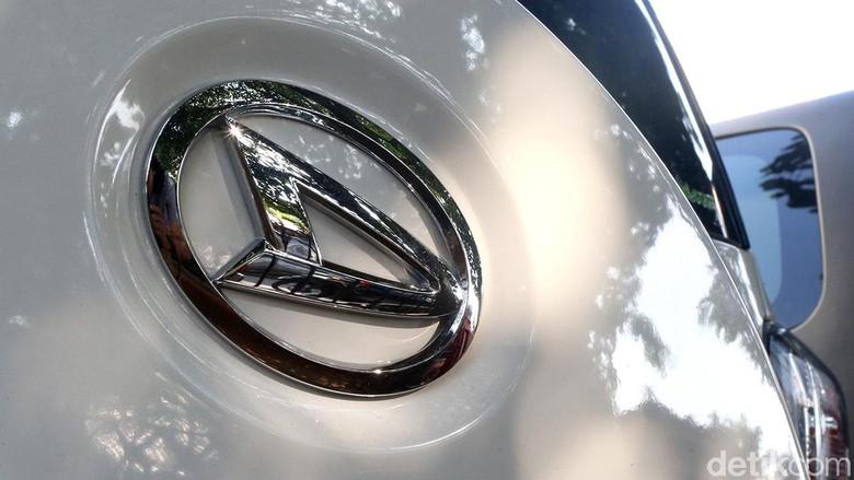 Ilustrasi logo Daihatsu. Foto: Ari Saputra