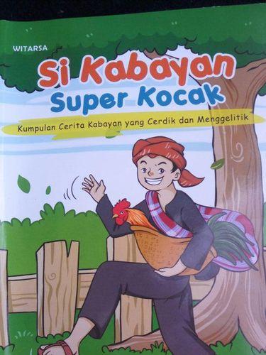 Buku 'Si Kabayan Super Kocak' yang beberapa halamannya mengandung konten dewasa.