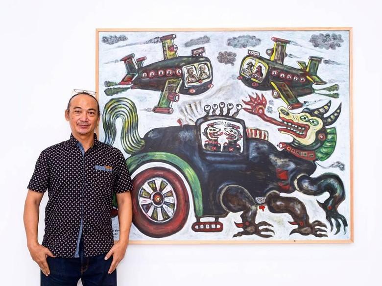 Karya-karya Heri Dono Bakal Mejeng di Art Central Hong Kong 2019 Foto: Tang Contemporary Art, Hong Kong