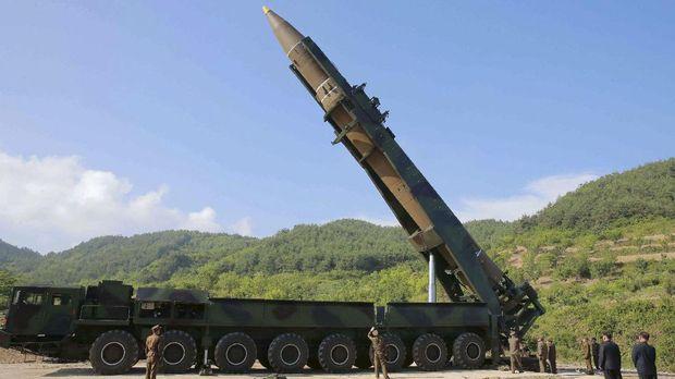 Rudal Hwasong-14 milik Korea Utara.