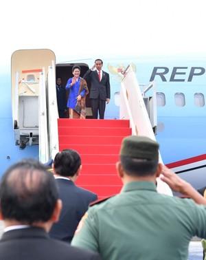 Jokowi Terbang ke Turki Temui Erdogan, Lalu ke Jerman Bertemu Trump
