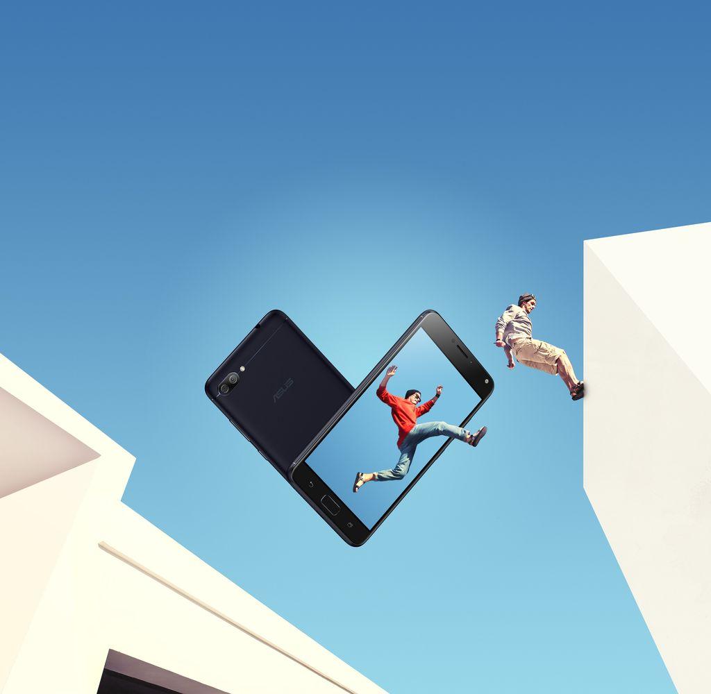 Zenfone 4 Max Pro mengusung layar 5,5 inch. Foto: asus