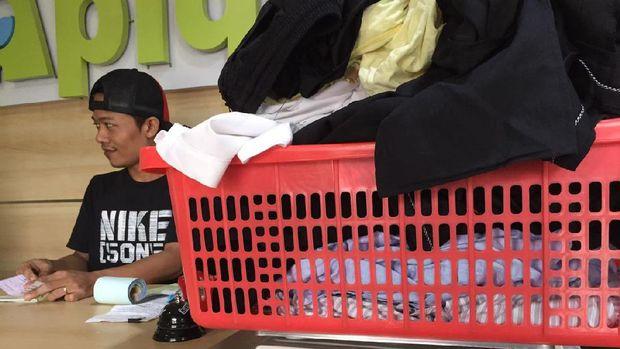 Permintaan laundry meningkat pasca Lebaran