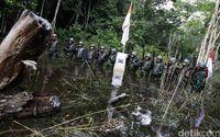 Tentara penjaga perbatasan.