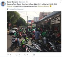 Pasca Jokowi Mampir, Kopi Tuku Makin Ramai Diantre Gojek