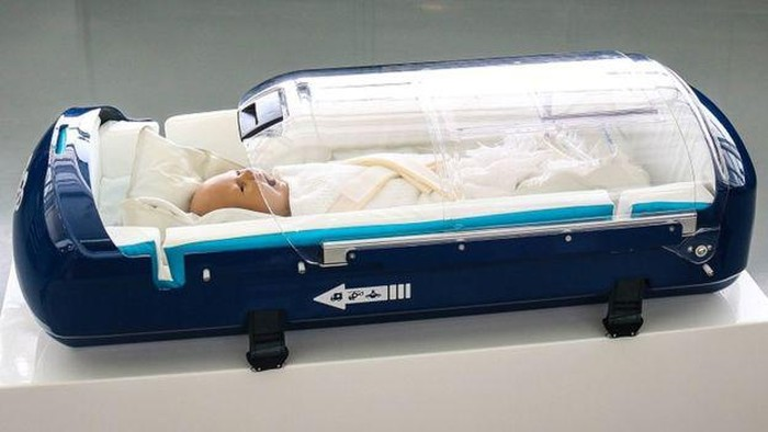 Babypod 20, carrier bayi khusus yang dikembangkan dengan teknologi Formula 1 (Foto: Williams)