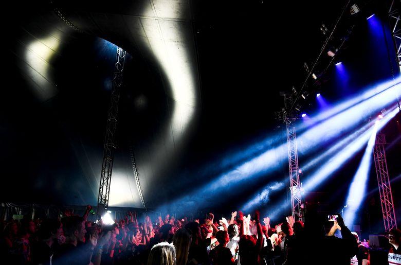 Adalah Festival Bravalla yang baru saja digelar di Swedia yang ternodai dengan tindakan bejat pelaku pemerkosaan. Foto: Pontus Lundahl via REUTERS