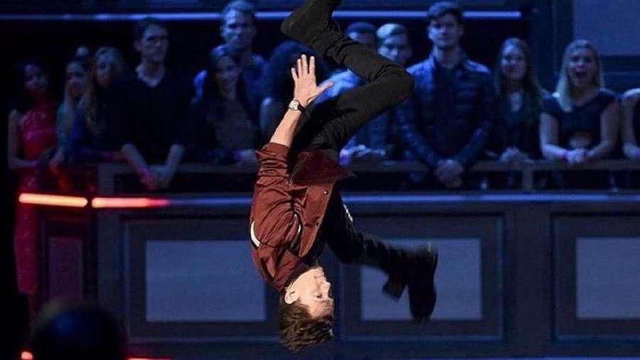 Tanpa Kostum Spider-Man, Tom Holland Sudah Biasa Terbang