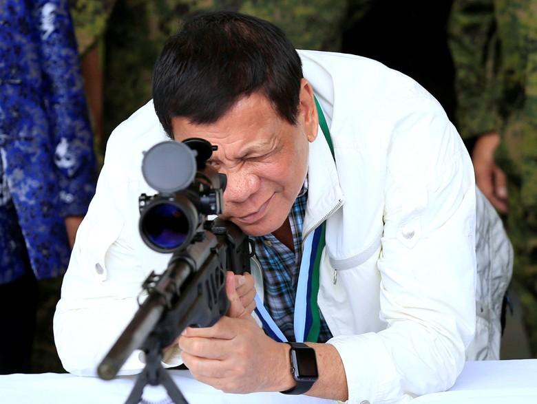 4 Langkah Galak Duterte yang Bikin Gembong Narkoba Lari ke RI