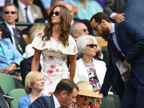 Pippa Middleton di Wimbledon 2016.