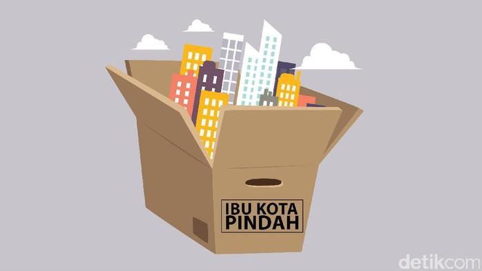 Jokowi Pindahkan Ibu Kota