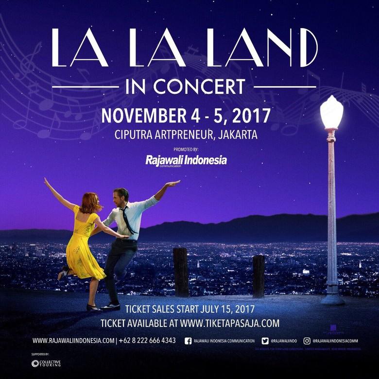 Buruan Beli! Tiket Konser Musikal La La Land Dijual Mulai Rp 600 Ribu